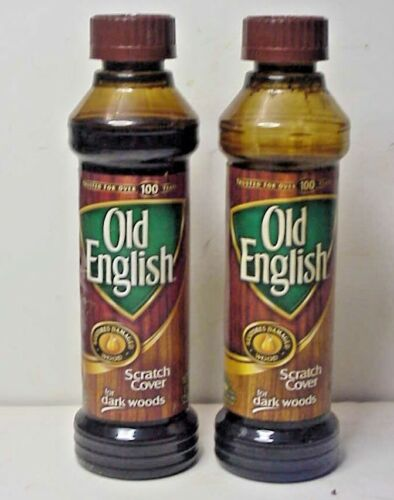 2 bottles - Old English Scratch Cover for Dark Wood -  barely used