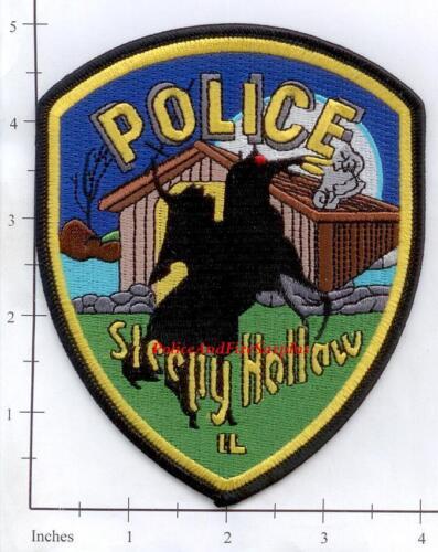 Illinois - Sleepy Hollow IL Police Dept Patch - Headless Horseman