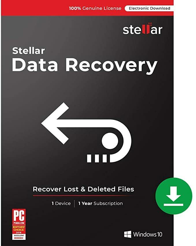 Stellar Data Recovery 9  Lifetime License Key