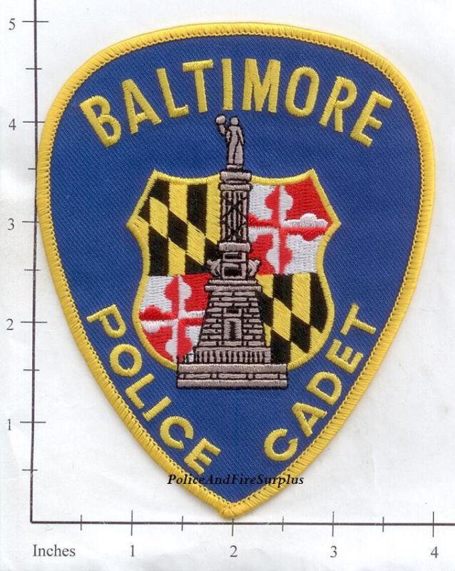 Maryland - Baltimore MD Cadet Police Dept Patch v2