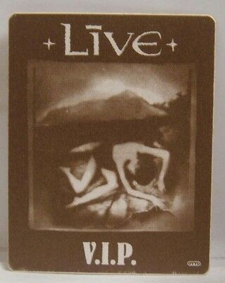 LIVE - ORIGINAL CONCERT TOUR CLOTH BACKSTAGE PASS