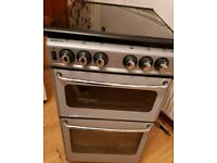 Gas Cooker Black /Silver Newhome