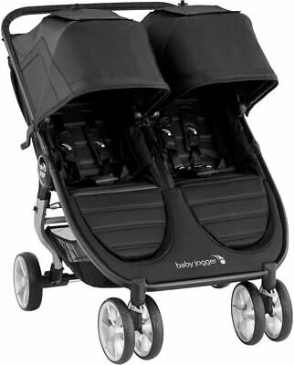 Baby Jogger City Mini 2 Twin Baby Double Stroller Jet NEW 2020