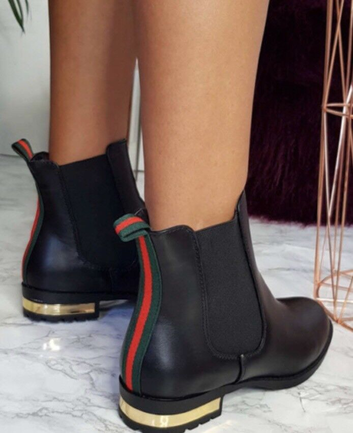 514f2c2c6ad Gucci Inspired Chelsea Boots