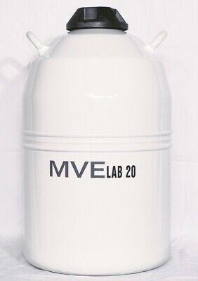 Mve Lab 20 - Dewar Liquid Nitrogen Storage Container