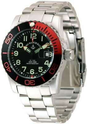Zeno Airplane Diver Automatic Black Dial Men's Watch 6349-12-A1-5M**Open Box**