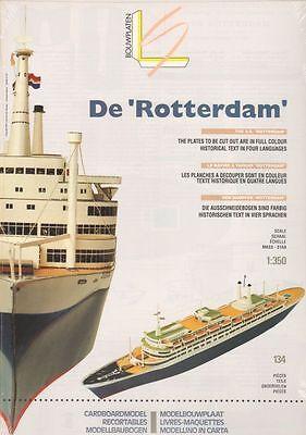 """Léon Schuijt - A 24 - Passagierschiff """"Rotterdam"""" - 1:350"""