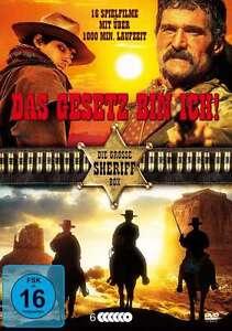 16-Oeste-Clasicos-amp-Raritaten-LA-LEY-DE-BIN-ICH-Coleccion-CAJA-DE-DVD-Sammlung