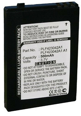 Battery for Sirius S50 Portable Satellite Radio Receiver S50-SB1, PLF 423042 A1