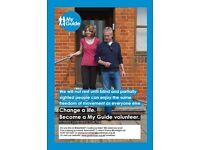 Volunteers needed! Change a life