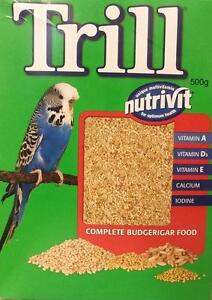 Budgie Seed 500g TRILL Traditional Budgie Seed Budgie Food