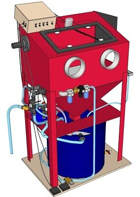 DIY Vapor Blaster from a sand blasting cabinet   Make old Parts look new again!