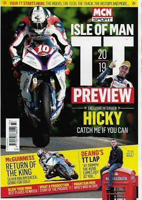 MCN SPORT-2019 TT Preview *Post included to UK(Also Ship Worldwide)