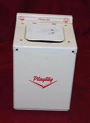 Antique Princess Playtag Maytag Toy Washer Gas Engine Motor Washing Machine