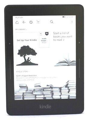 "Amazon Kindle Voyage 6"" Wi-Fi, 7th Generation (SCRATCH & DENT) - Black 47-5A"