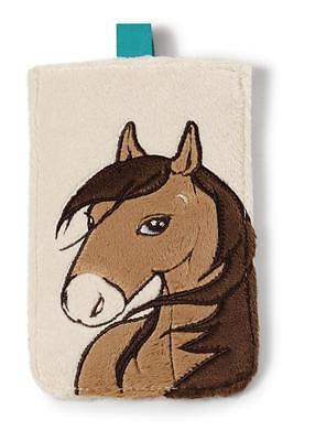 Nici Pferd Handytasche Handyhülle Tasche Smartphone Handy 10x15, 5cm Plüsch 38759