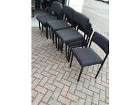 10 stackable chairs all for £15