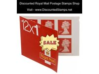 Discounted 1st - 2nd Class Postage Stamps