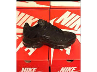 Nike Tn Triple Black New In Box free delivery