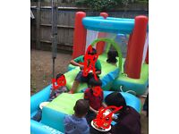 Bouncy castle available
