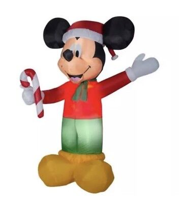 New Gemmy Disney 9 Ft Lighted Mickey Mouse Christmas Inflatable Air Blown