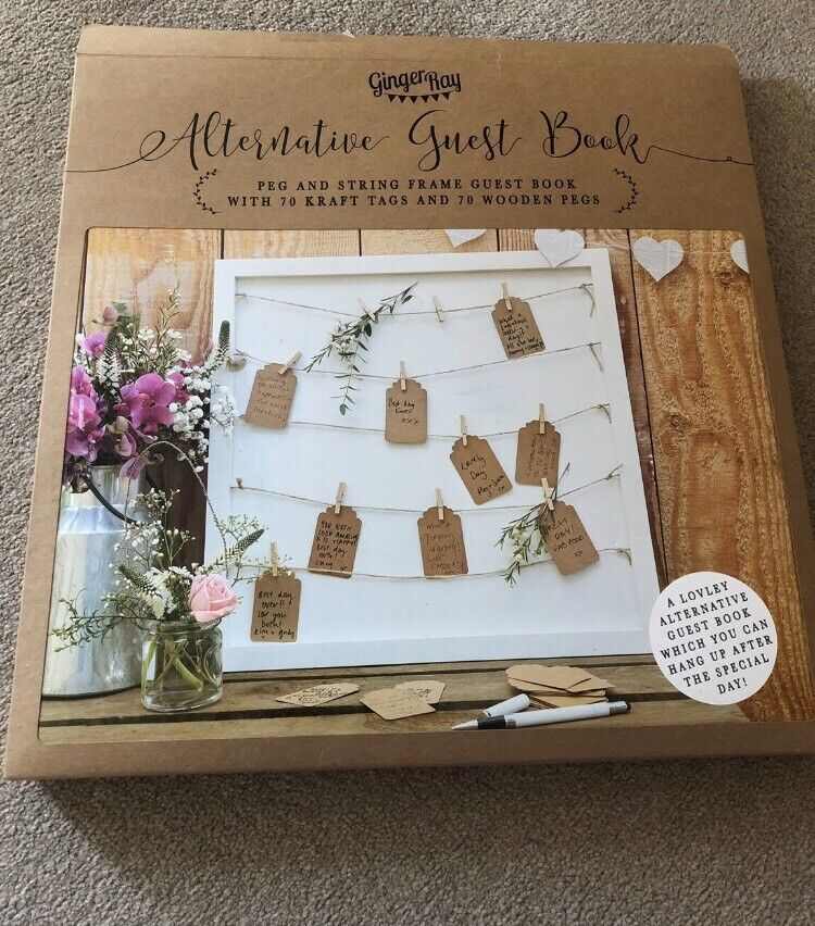 Alternative Wedding Guest Book.Ginger Ray Alternative Rustic Wedding Guestbook In Branston Lincolnshire Gumtree