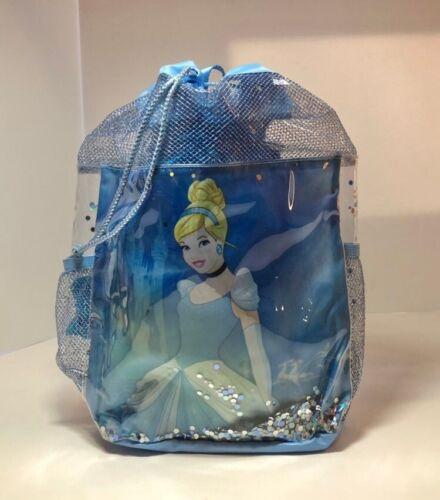 NWT Disney Store Cinderella Beach Bag Pool Purse Backpack Style