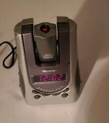 Memorex AM/FM Projection Clock Radio Alarm Model MC2896 Pre-Owned