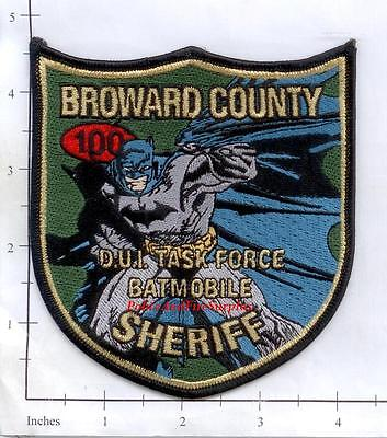 Florida - Broward County Sheriff DUI Task Force FL Police Dept Patch