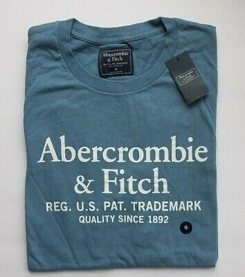 NWT ABERCROMBIE & FITCH T-SHIRT Men's Sz L NEW A&F Short Sleeve Tee