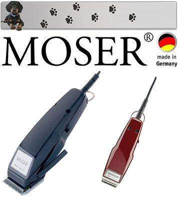 Moser Esquiladora Profesional + Mini Trimmer Para Acabado Hacer Frente Huellas