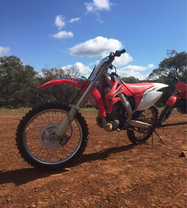 CRF250R Hewett Barossa Area Preview