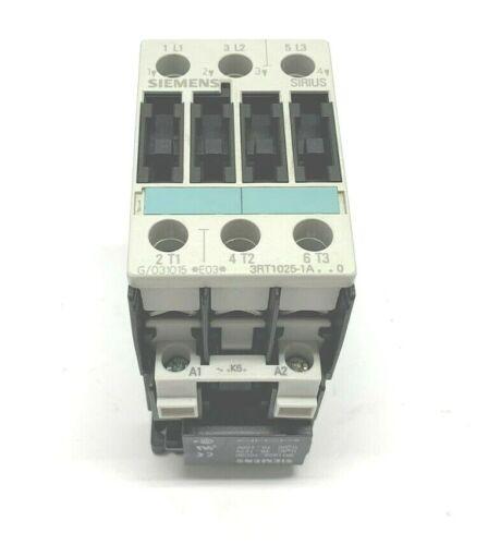 NEW SIEMENS 3RT1025-1A..0 SIRIUS CONTACTOR W/ 110/120V COIL, 3RT1025-1AK60