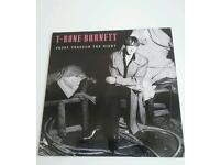 """Original vinyl LP T-Bone Burnett """"Proof through the night"""" - pristine"""