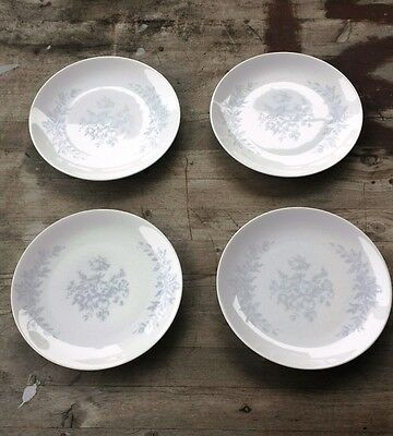 Rare Raymond Loewy for Rosenthal Rose Damask China – Four Side Plates