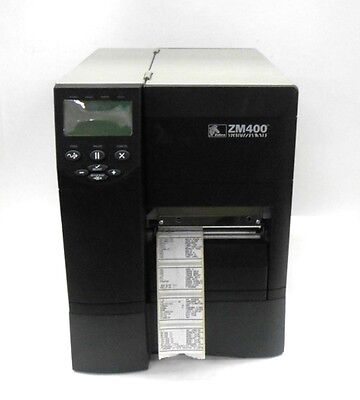 ZEBRA THERMAL TRANSFER BARCODE LABEL PRINTER ZM400-2001-0000T for sale  Shipping to India