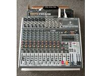 BEHRINGER X1832USB 18 INPUT MIXER WITH EQ AND EFFECTS