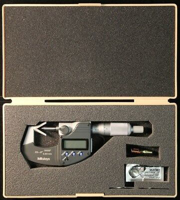 Mitutoyo V-anvil Micrometer 314 361 10 With Case