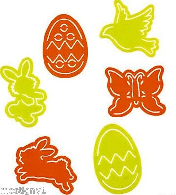 Kids Crafts - Easter Stencils (18 pcs/pkg with 3 each of 6 designs)