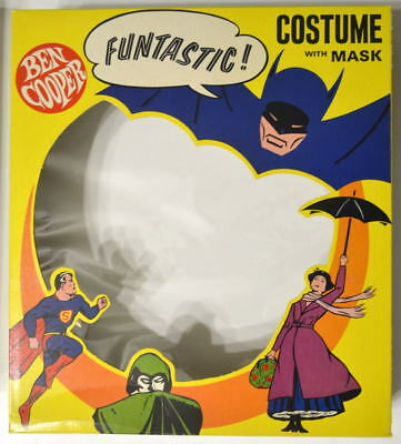 SUPERGIRL Super Hero COSTUME Complete w Original Box 1966 Child Size 12-14 w TAG (Original Supergirl Kostüm)