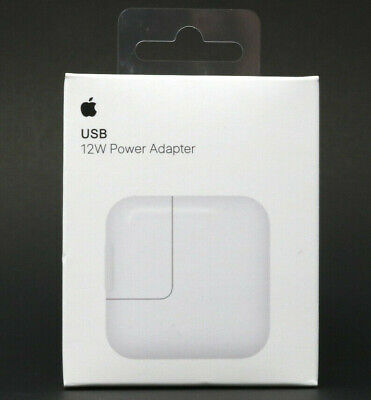 Genuine Original OEM 12W USB Power Adapter Wall Charger for Apple iPad Lightning