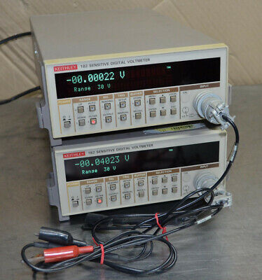 Keithley 182 Sensitive Digital Voltmeter A1