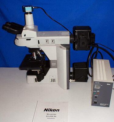 Nikon Eclipse 80i Fluorescence Microscope