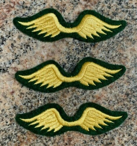 LOT OF 3 GIRL SCOUT BROWNIE WINGS BADGES PATCHES NOS & UNUSED