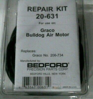 Bedford Precision Part 20-631 Repair Kit Use On Graco Bulldog Air Motor-freeship
