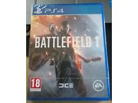 Battlefield 1 (PS4) Brand new and sealed, as picture. Playstation 4 Game. Battlefield One.