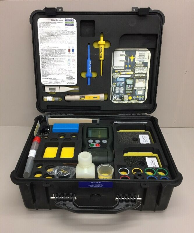 Hach Eclox-M Water Test Kit W/ Carrying Case, Luminometer, TDS Meter, PH Meter