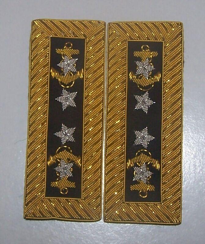 Navy Admiral Dewey Officer Uniform Boards Straps War Sea Fleet Manila Bay Battle