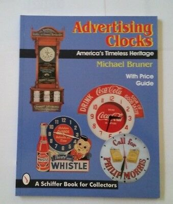 Brand Advertising Clocks Value Guide Collectors Book