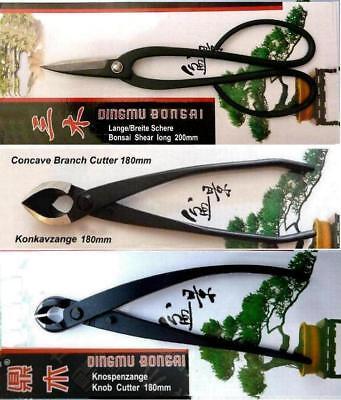 SONDERPREIS statt €120 - Bonsai Werkzeug Tool Set3 Carbonstahl Japanqualität ##2